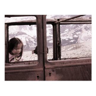 Old Car II Postcard