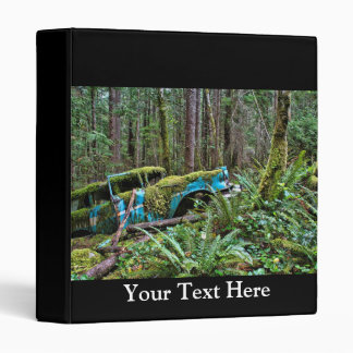 Old Car in the Forest Vinyl Binders