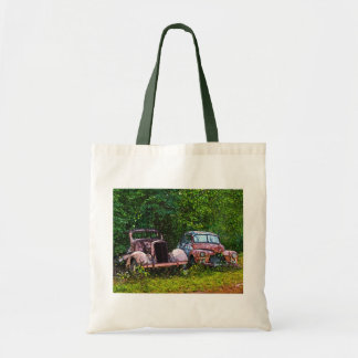 Old Cars Tote Bag