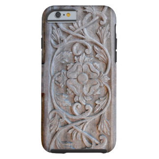 Old Carved Wood Door Scrollwork Tough iPhone 6 Case