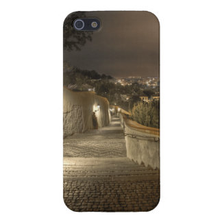 Old Castle Stairs Prague NIght iPhone 5/5S Cover