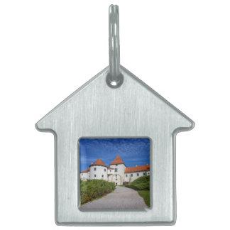 Old castle, Varazdin, Croatia Pet ID Tag