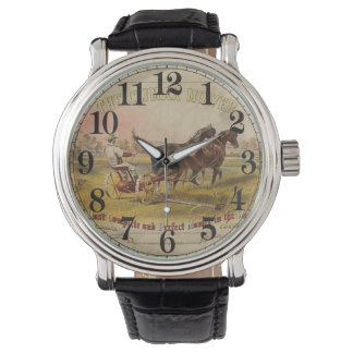 Old Ceifador with pair of horses Wristwatches