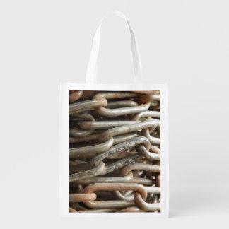 Old Chain Reusable Bag