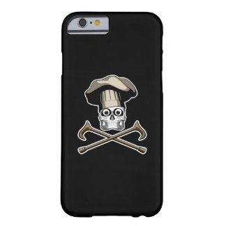 Old Chef Skull v3 Barely There iPhone 6 Case