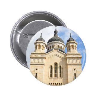 Old church in Cluj Napoca, Romania 2 Inch Round Button