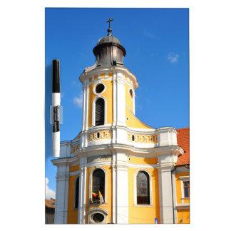 Old church in Cluj Napoca, Romania Dry Erase Board