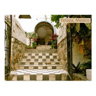Old Church - Yelapa, Mexico Postcard