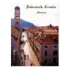 Old City Dubrovnik - Stradun Postcard