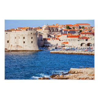 Old City of Dubrovnik Photo Print