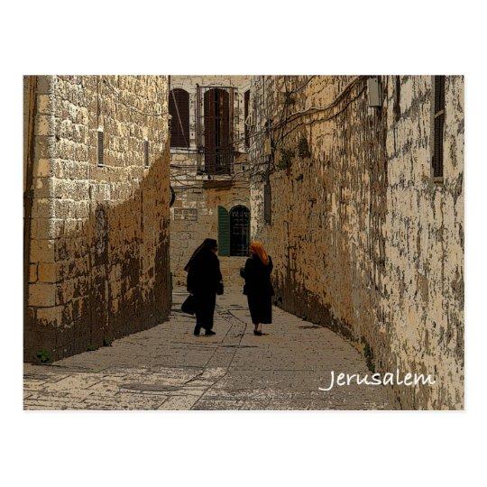Old City of Jerusalem Postcard