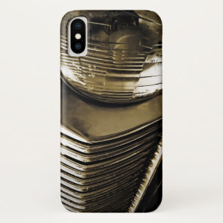 Old Classic Car Headlight iPhone X Case