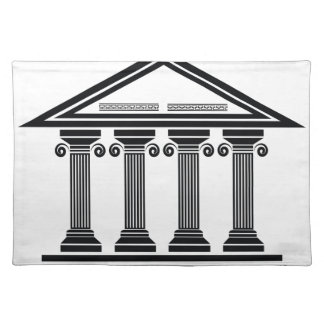 old columns placemat