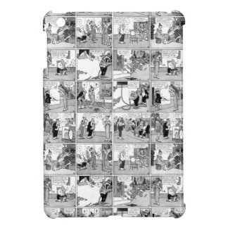 Old comic strip iPad mini case