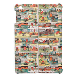 Old comic strip iPad mini cover