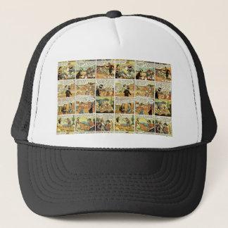 Old comic strip trucker hat