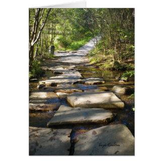 Old Copper Road Copperhill Tennessee Ocoee River Card