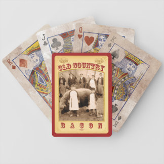 Old Country Bacon-Playing Cards