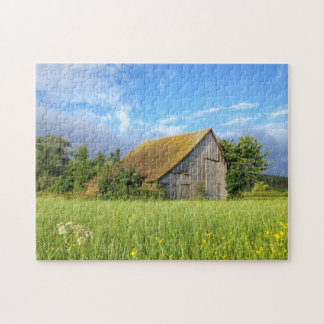 Old Country Barn Jigsaw Puzzle