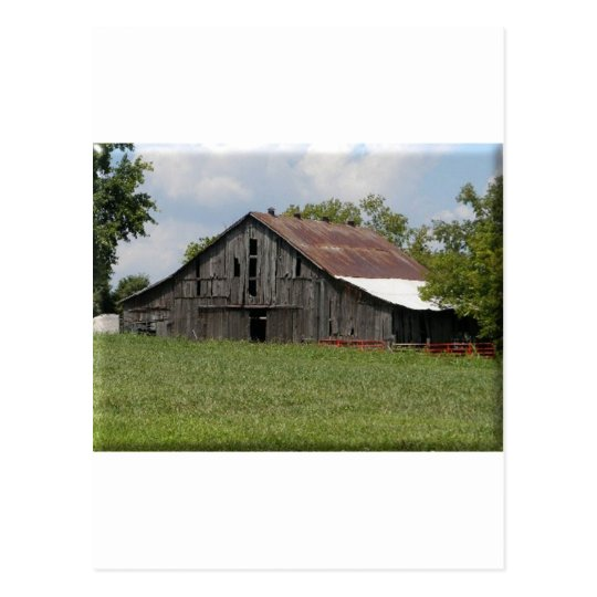 Old Country Barn Postcard