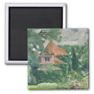 Old Country House, 1902 Square Magnet