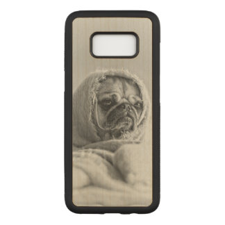 Old Country Pug Carved Samsung Galaxy S8 Case