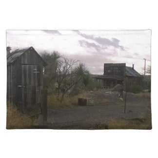 Old Country Western Ghost Town Placemat