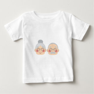 Old Couple Baby T-Shirt