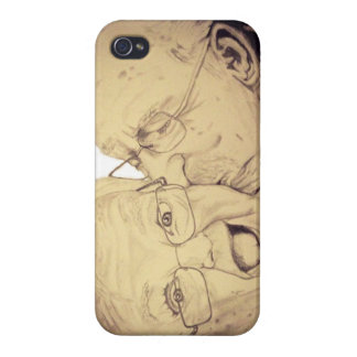 Old Couple Love is Forever Case (Iphone 4S,4) iPhone 4/4S Case