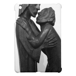 Old Couple Sculpture Case For The iPad Mini