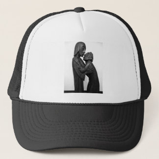 Old Couple Sculpture Trucker Hat