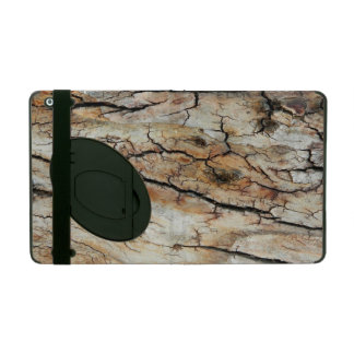 Old cracked wood natural tree bark picture covers for iPad