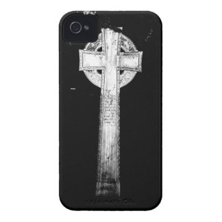 Old Cross Statue iPhone 4 Cover