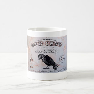 Old Crow Bourbon Whiskey Mug