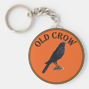 old crow keychain