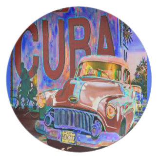 OLD CUBAN BUICK PLATE