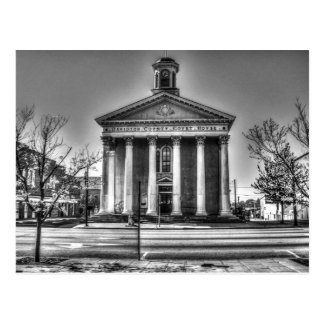 Old Davidson County Courthouse Postcard