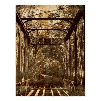 Old Deserted Bridge Postcard