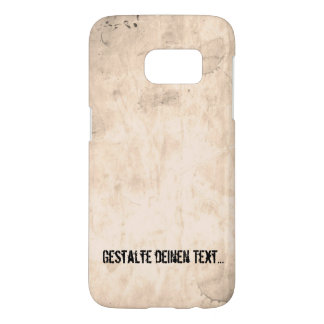 Old Dirty Background Samsung Galaxy S7 Case