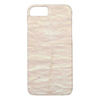 old dirty paper iPhone 7 case