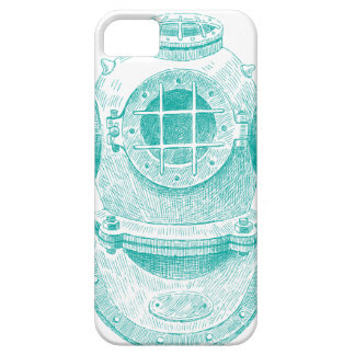 Old diver suit iPhone 5 case