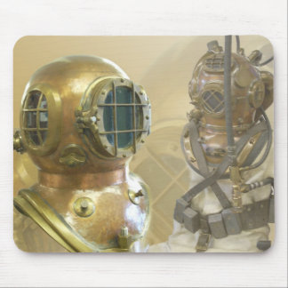 Old Diving Gear Mouse Pad