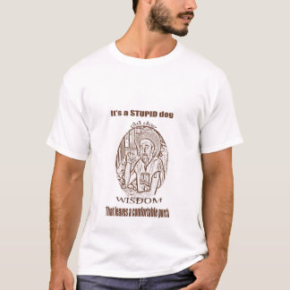 Old dog Wisdom T-Shirt