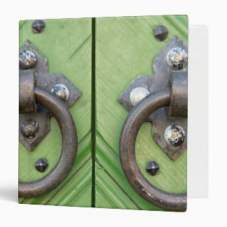 Old door 3 ring binder