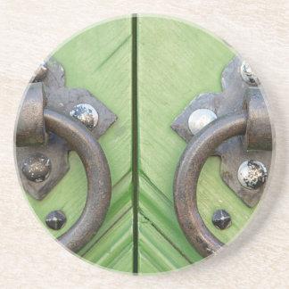 Old door coaster