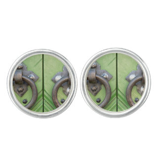 Old door cufflinks