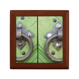 Old door gift box