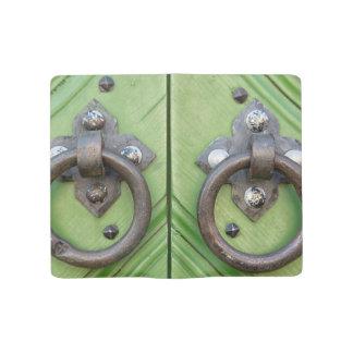 Old door large moleskine notebook