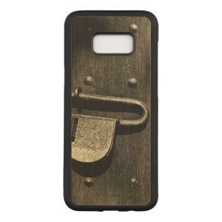 Old Door Latch Carved Samsung Galaxy S8+ Case