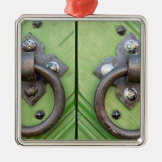 Old door metal ornament